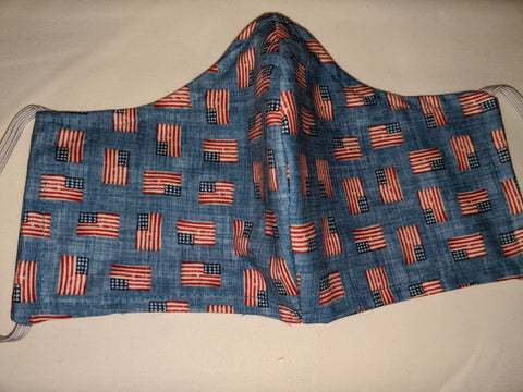 Facemask American Flags