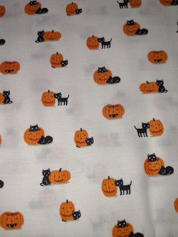 Halloween Ghouls & Goodies Cats/Jack O'Lanterns