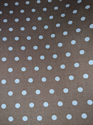 Squirrelly Girl Brown Polka Dots