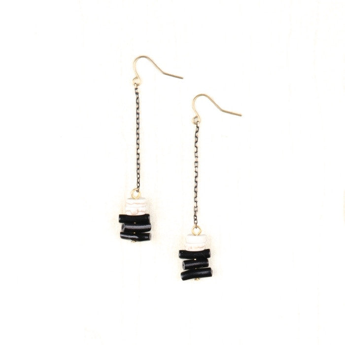 Avril Bead Drop Earrings
