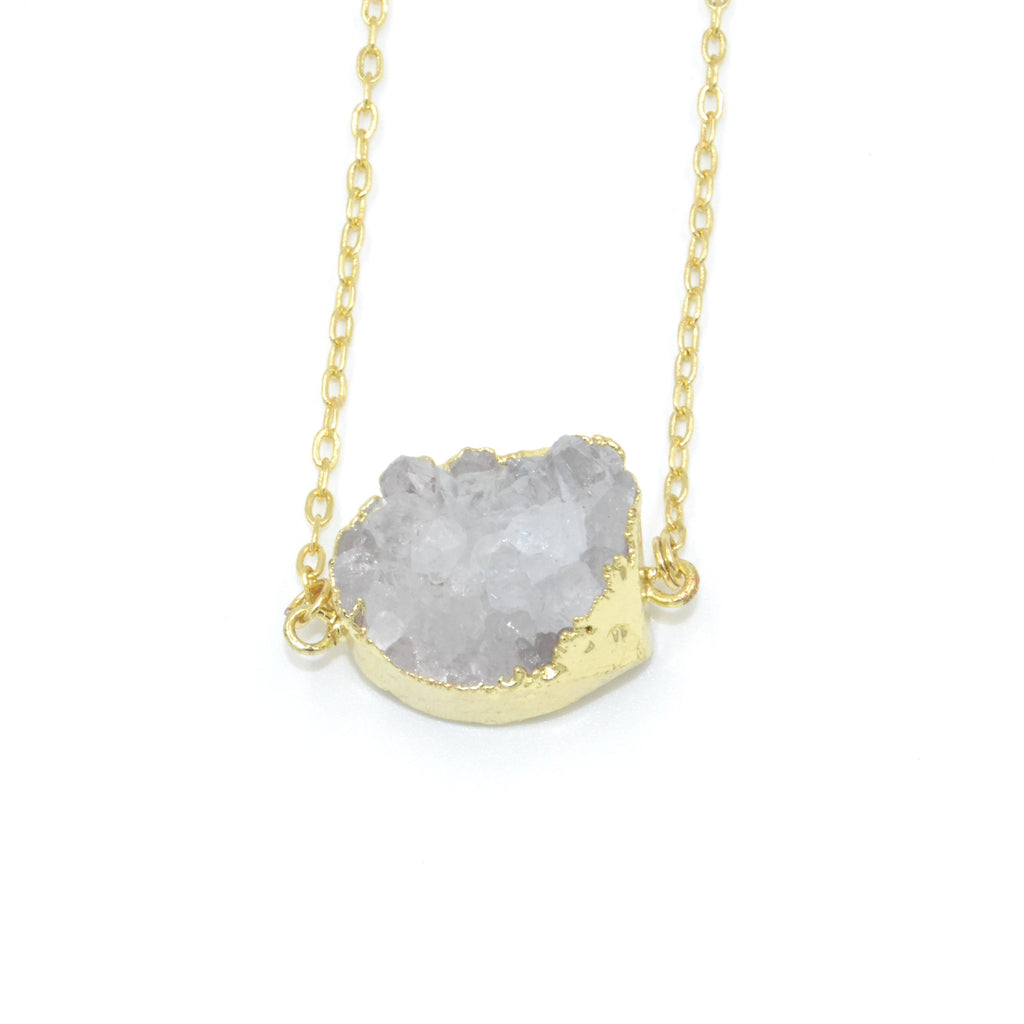Ivy Crystal Pendant Necklace