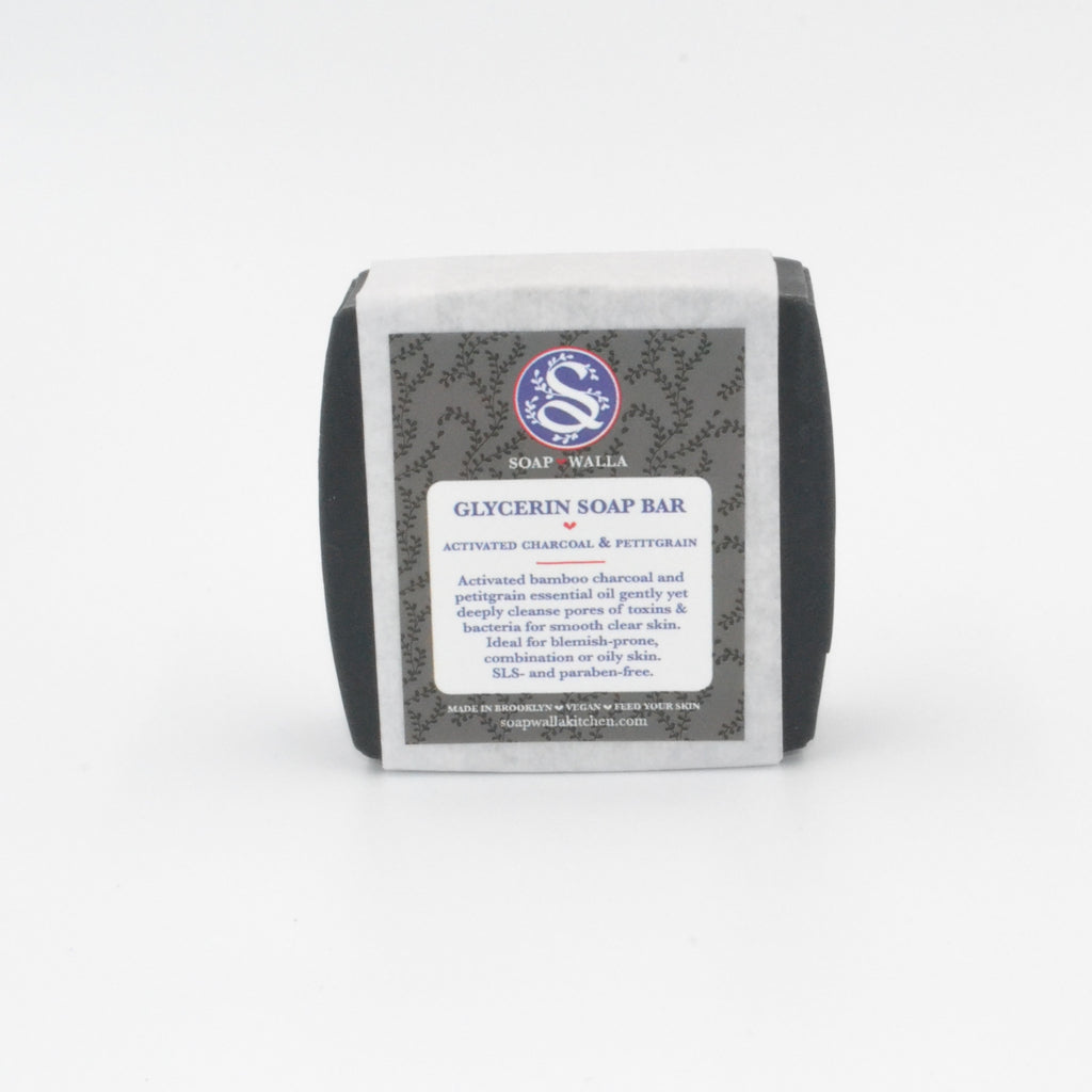 Activated Charcoal & Petitgrain Soap Bar