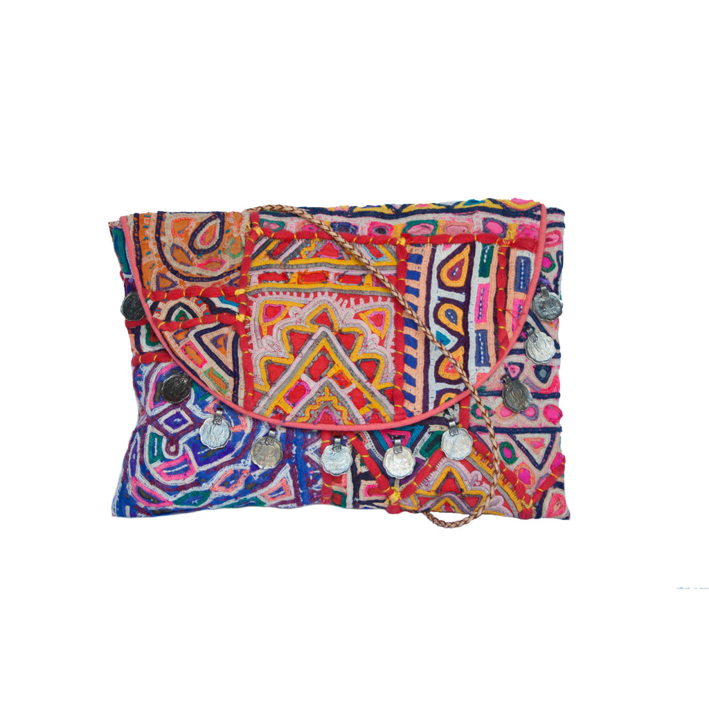 Diwali Printed Clutch