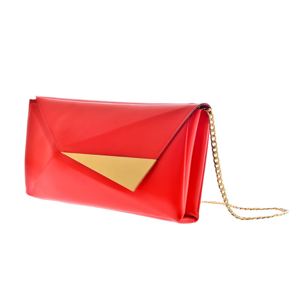Elizabeth Clutch - Red