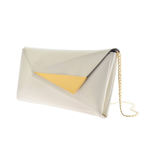 Elizabeth Clutch - White