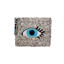 Evil Eye Sequined Clutch
