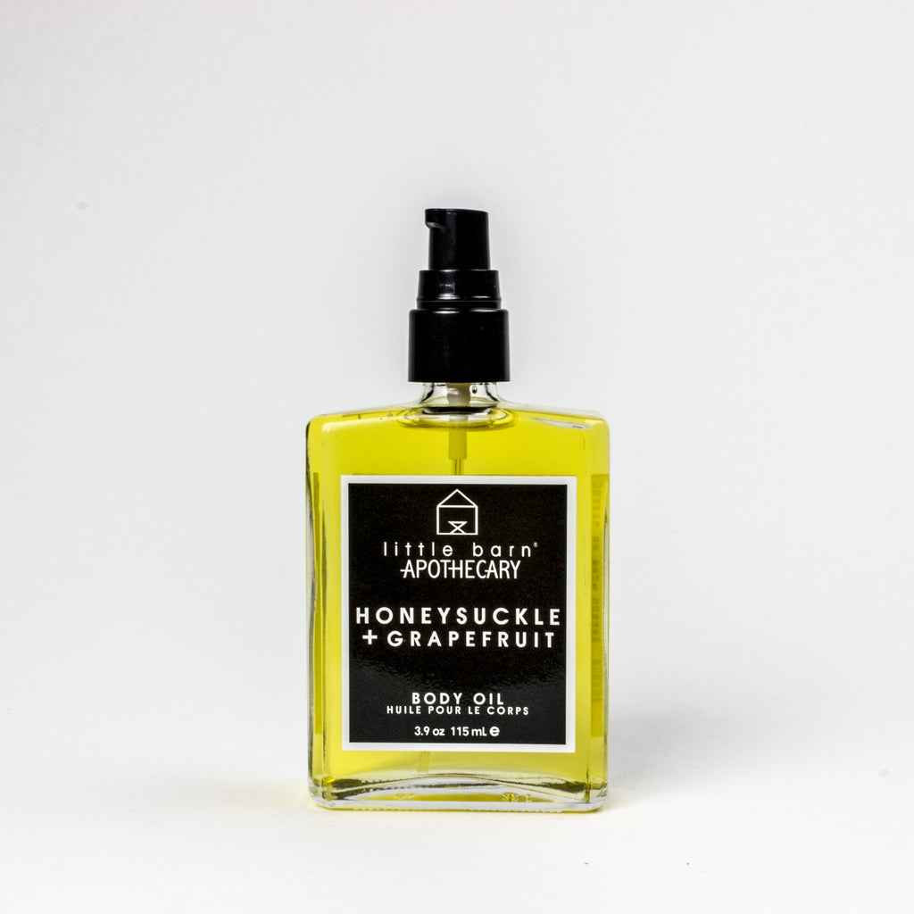Honey Suckle + Grapefruit Body Oil