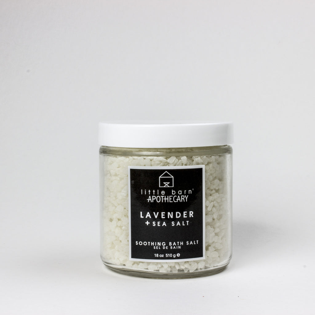 Lavender + Sea Salt Soak