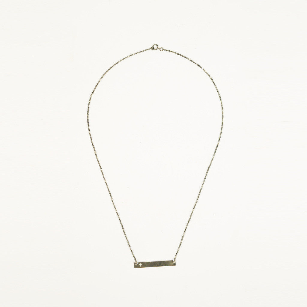 Layla Bar Necklace