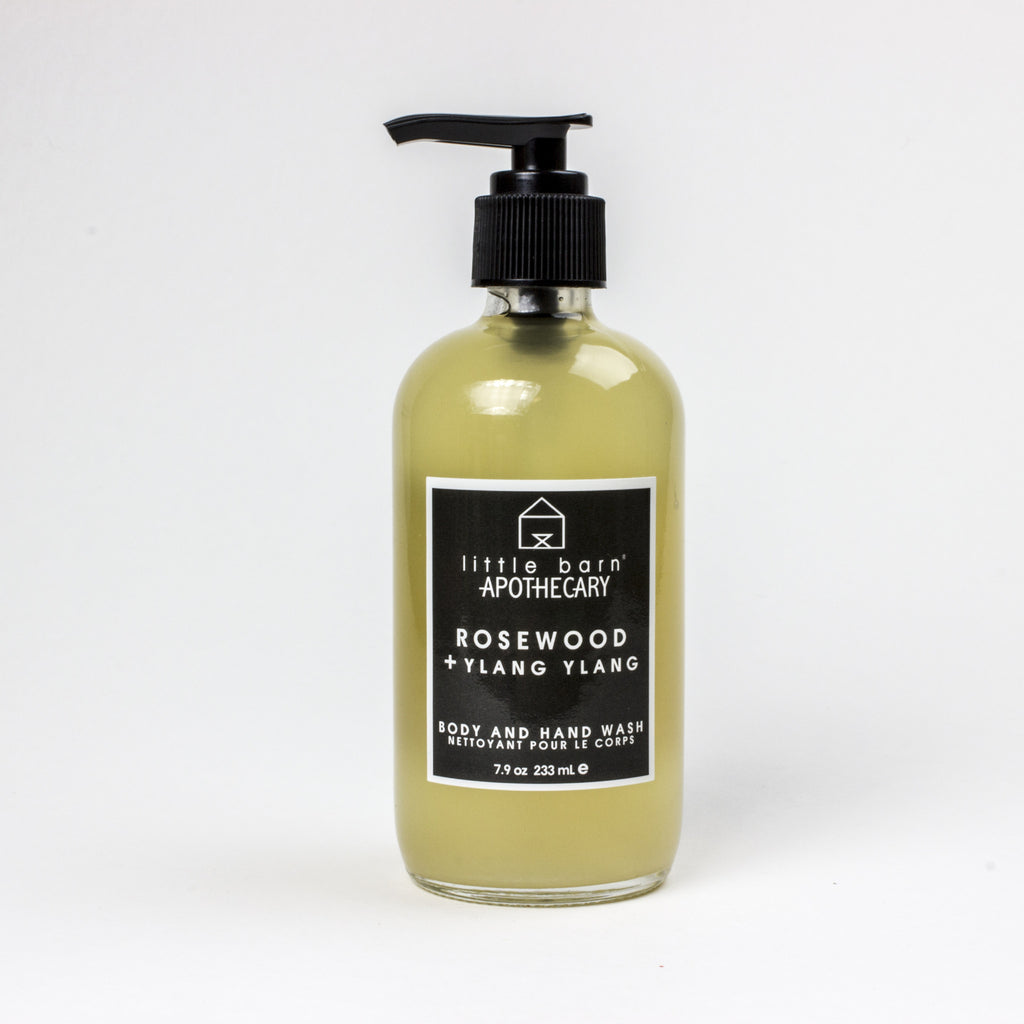 Rosewood + Ylang Ylang Body Wash
