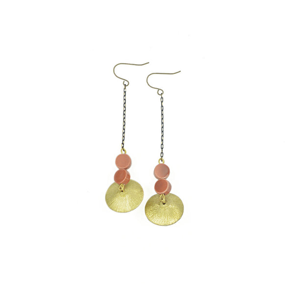 Randi Ceramic Drop Earrings