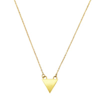 Mini Triangle Drop Necklace