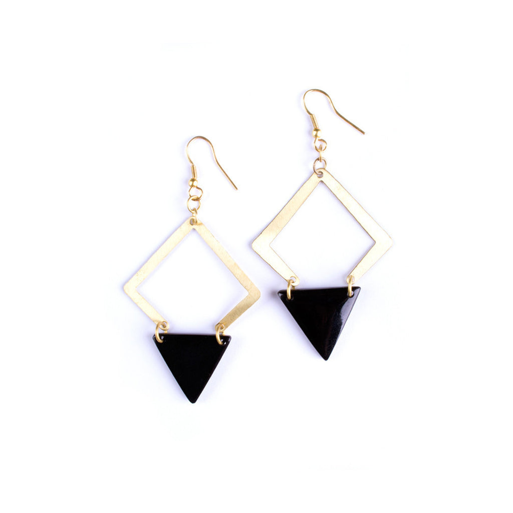 Desert Solitaire Earrings