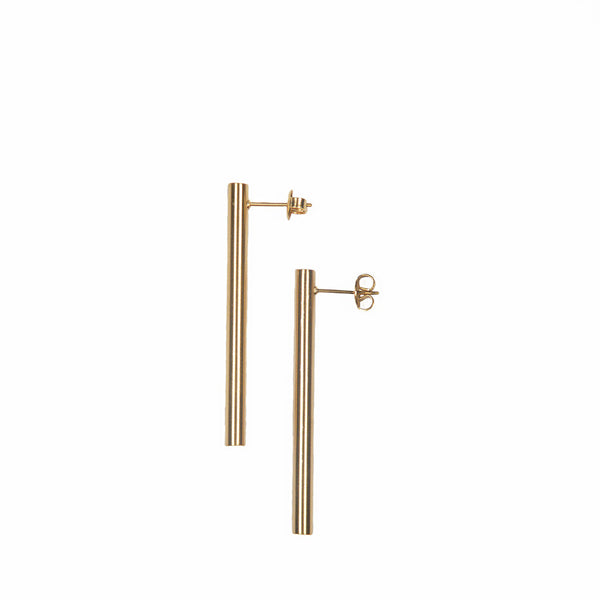 Yvonne Long Bar Stud Earrings