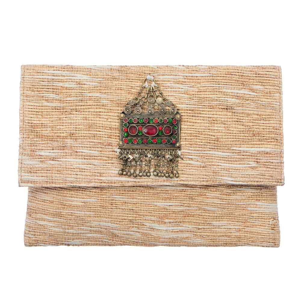 Akinyi Brooch Clutch