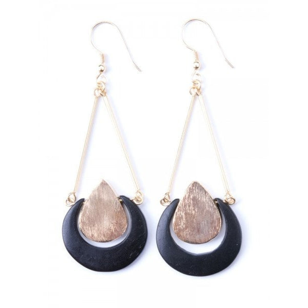 Apollo Tear Drop Stone Earrings