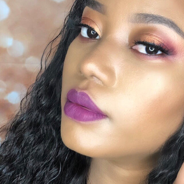"Liquid Matte Lipstick ""Purple reign"""