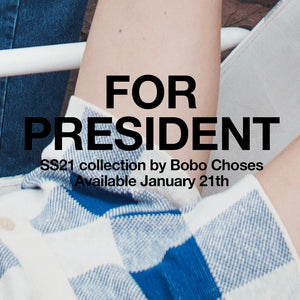 BOBO CHOSES FOR PRESIDENT GROWING YOUNG