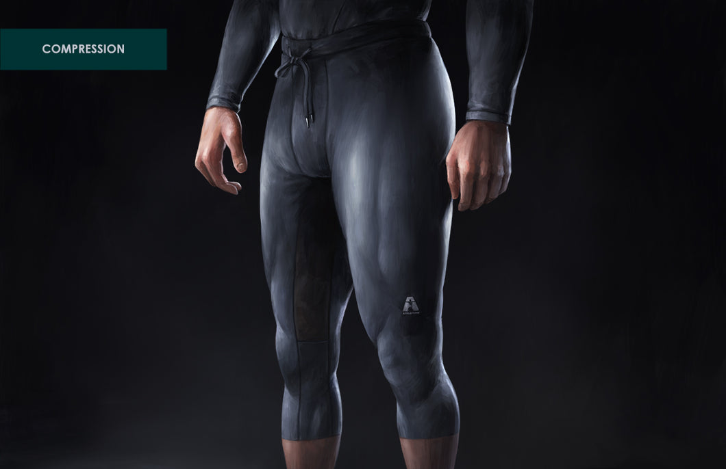 Elite Compression: 3/4 Length Pants