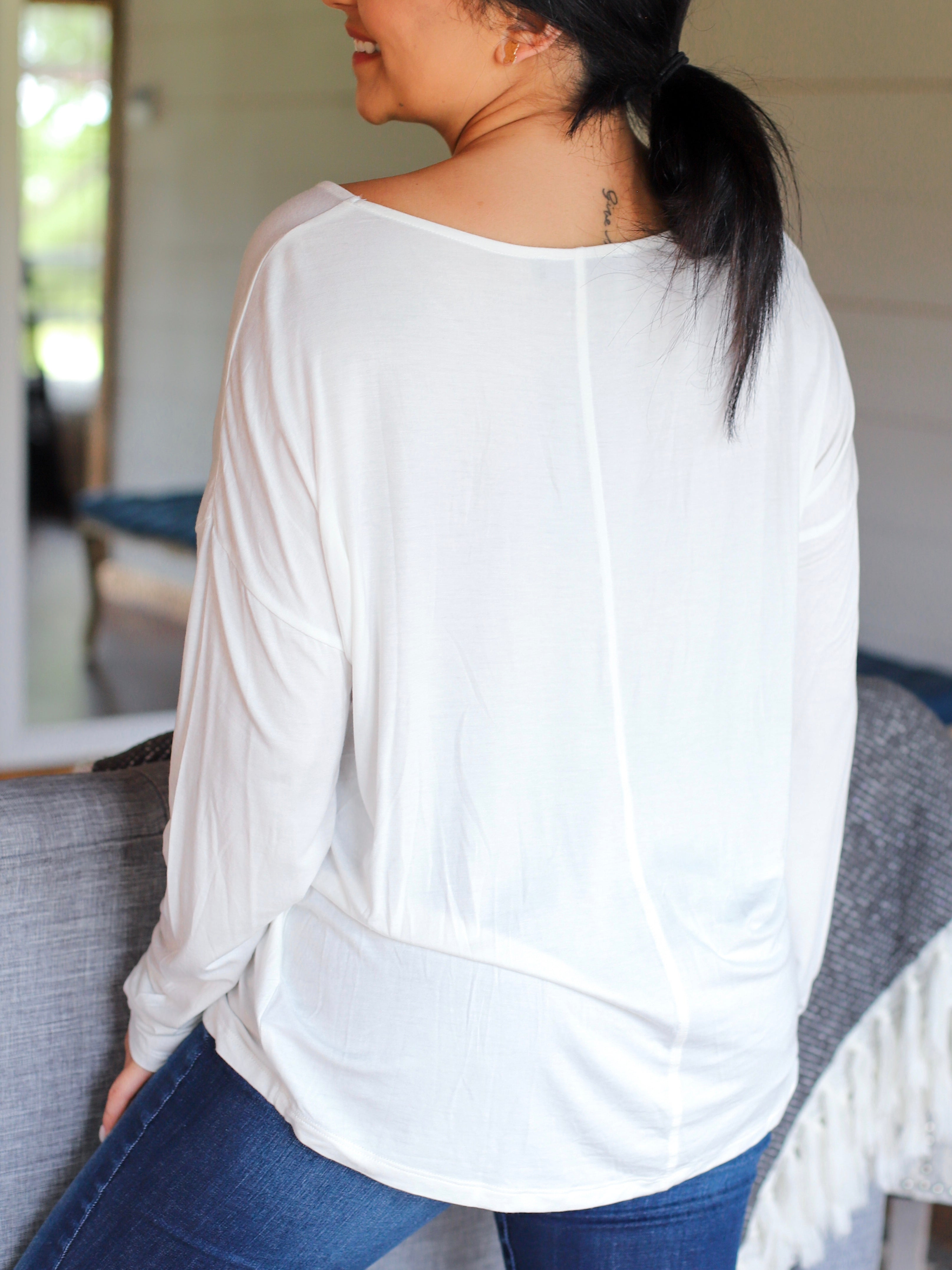 Felicity Top In White