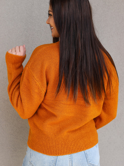 Taylor Sweater In Cinnamon
