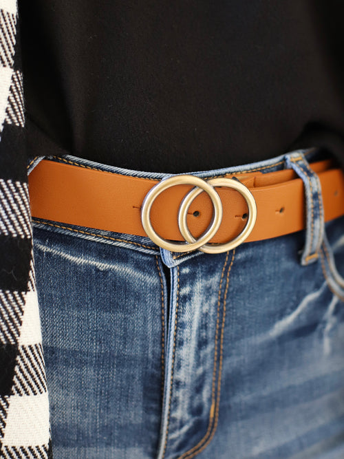 Alex Belt In Camel