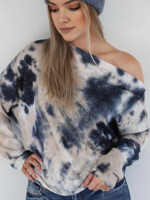 Lisa Top In Tie Dye