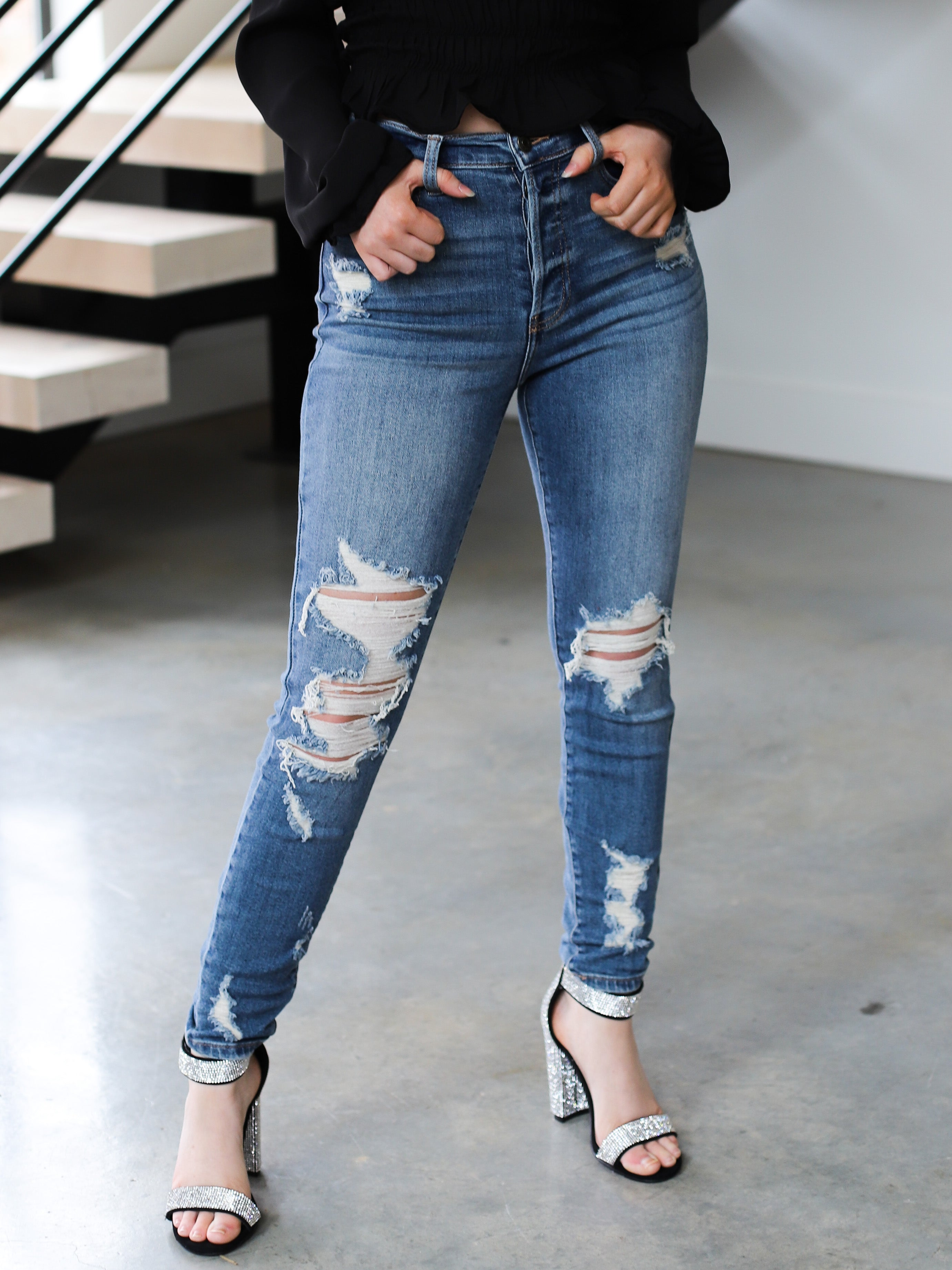 Bell Skinny Jeans