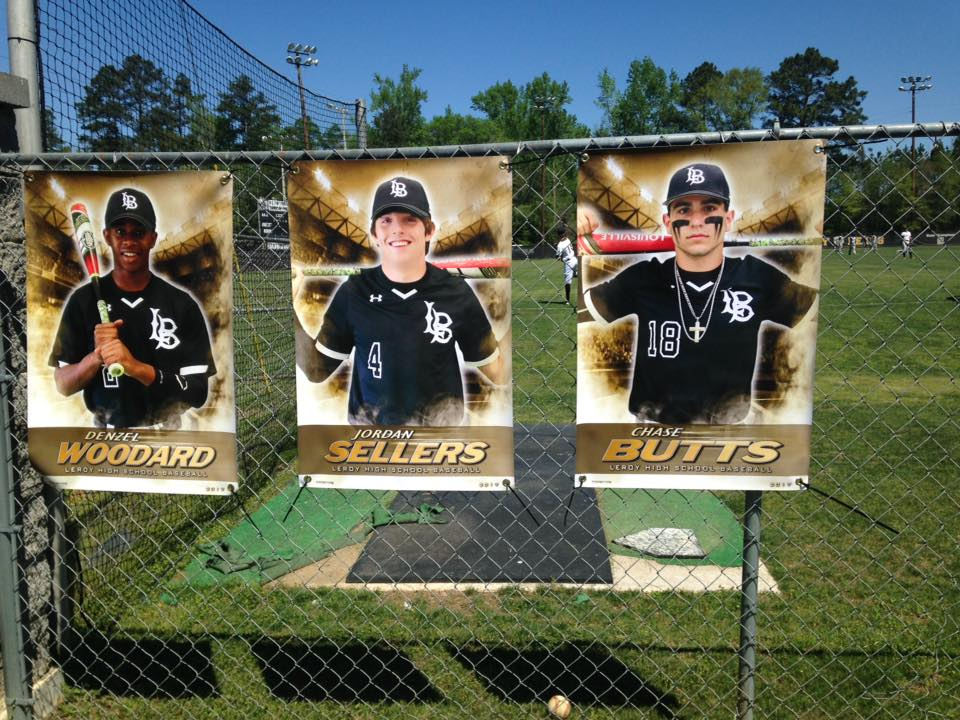Baseball Senior Banners