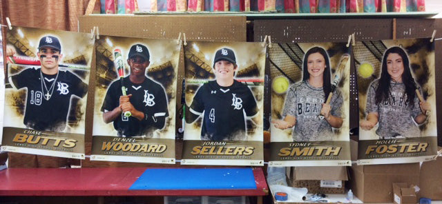 Baseball Softball Senior Banners