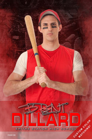 Baseball Softball Senior Banner Sports Poster