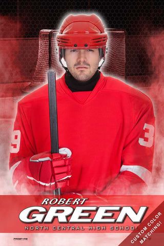 Hockey Senior Banner Sports Poster
