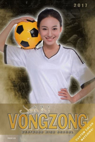Soccer Senior Banner Sports Poster