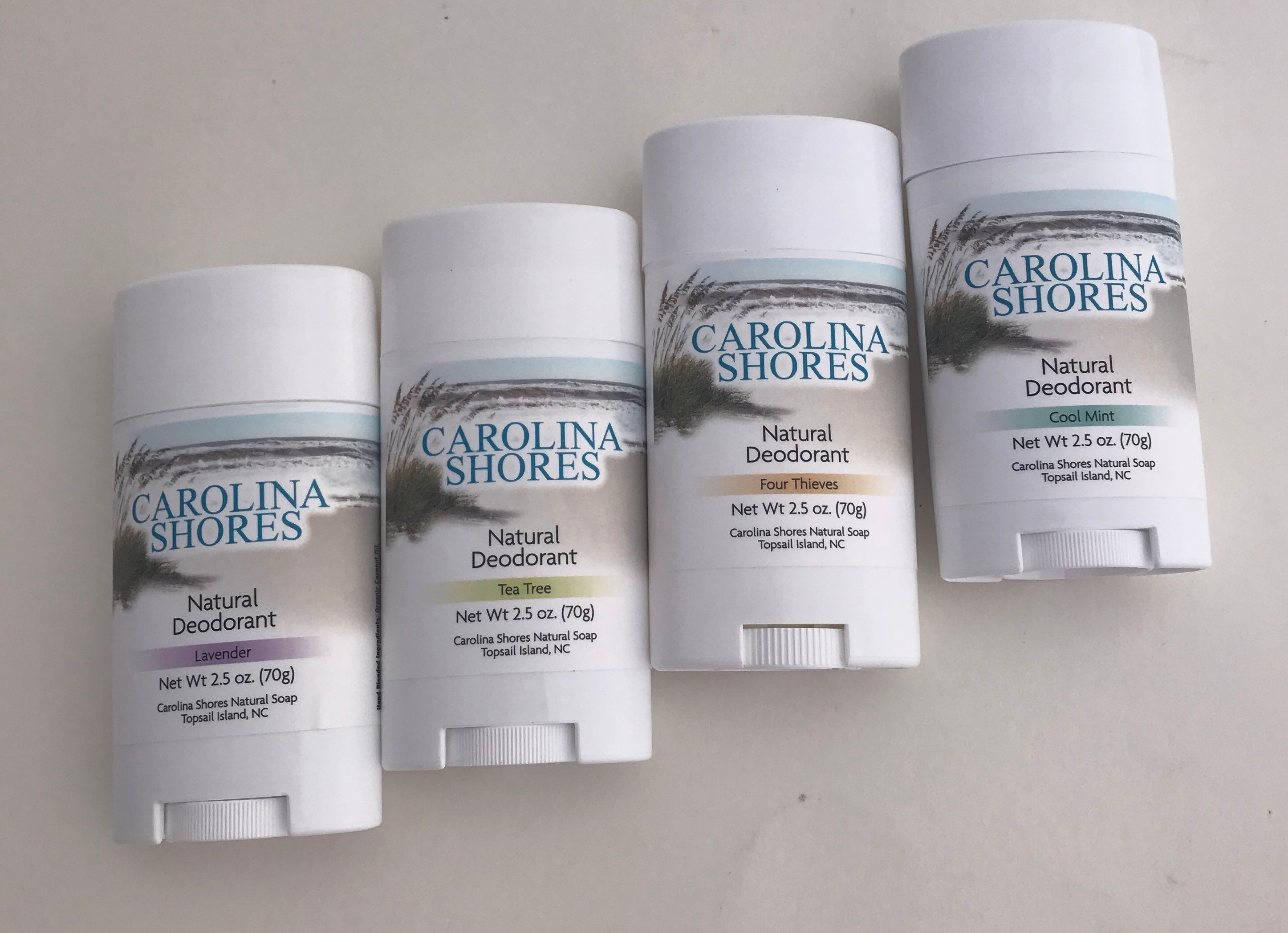 Carolina Shores Natural Soap Natural Deodorant