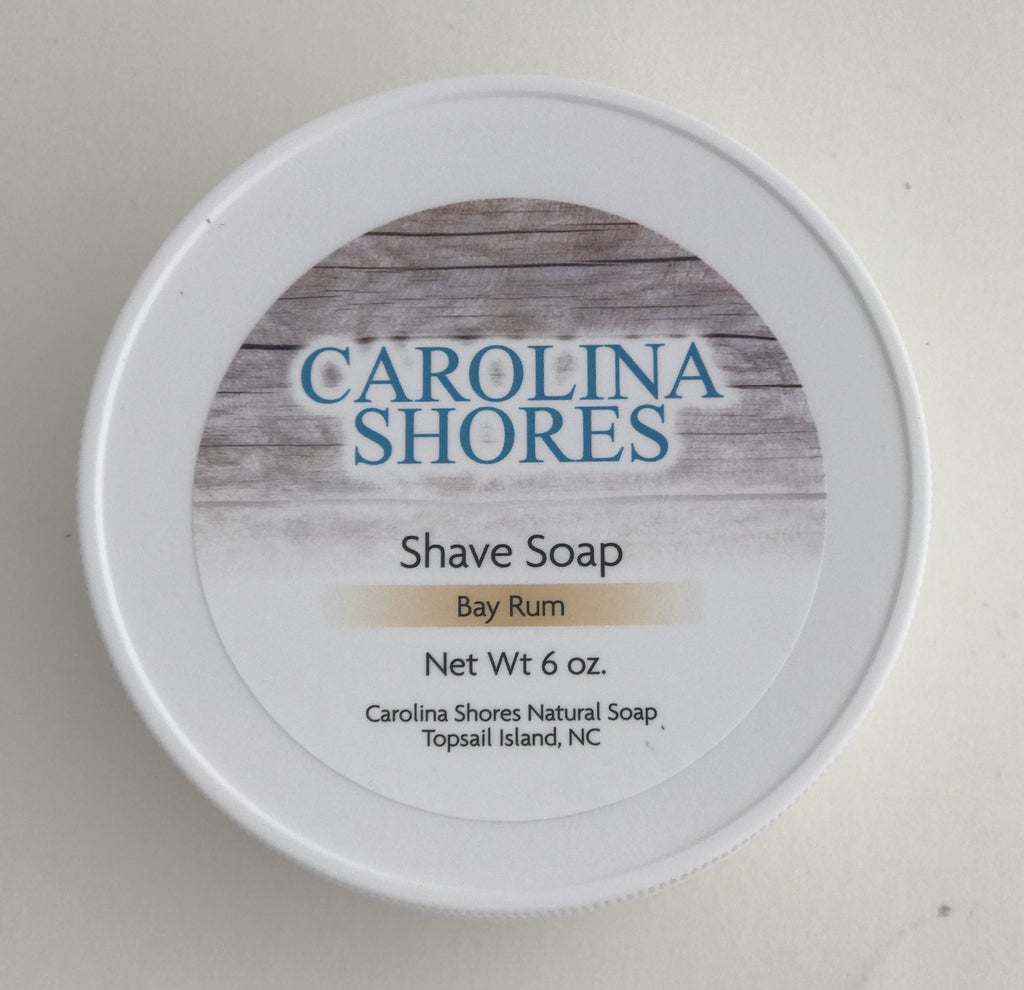 Carolina Shores Natural Soap Shave Soap