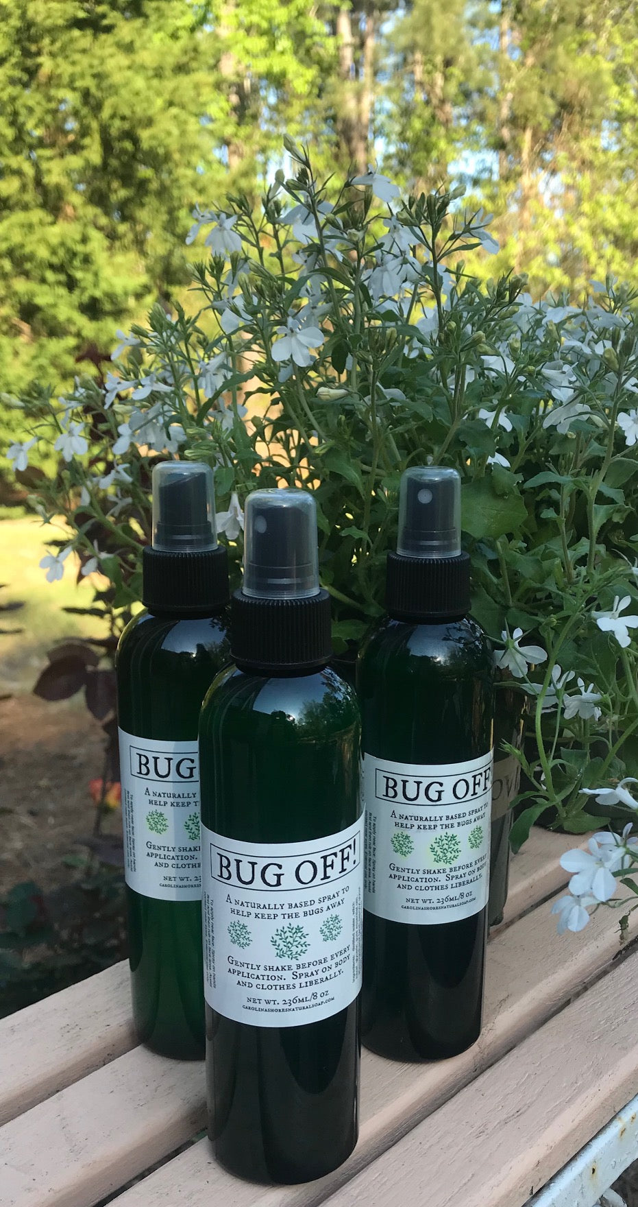 BUG-OFF Natural Outdoor Spray