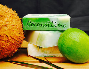 Carolina Shores Natural Soap Coconut Lime Verbena