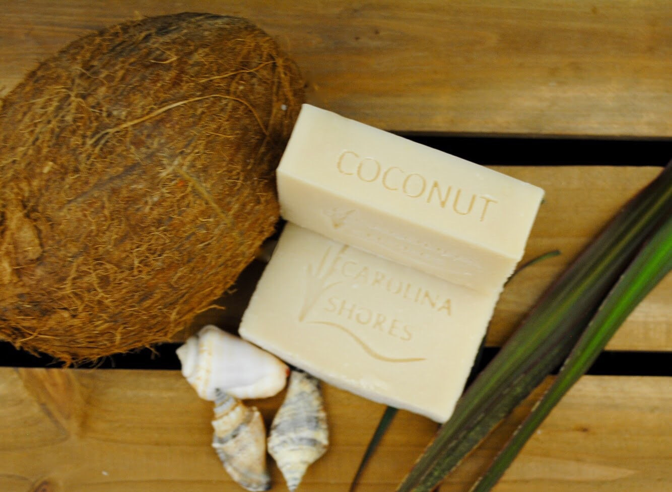 Carolina Shores Natural Soap Island Coconut