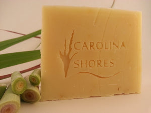 Carolina Shores Natural Soap Lemongrass