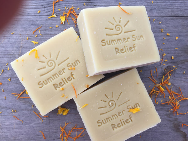 Summer Sun Relief Soap