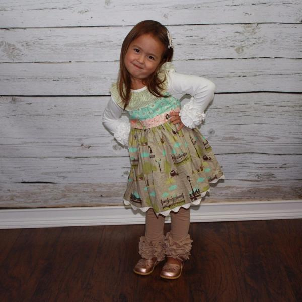 Tan Icings - Ooh La La Ruffles Boutique