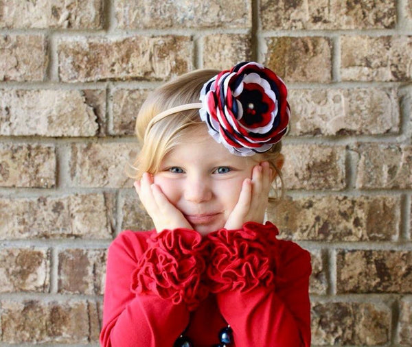Rosey Red Icing Top - Ooh La La Ruffles Boutique