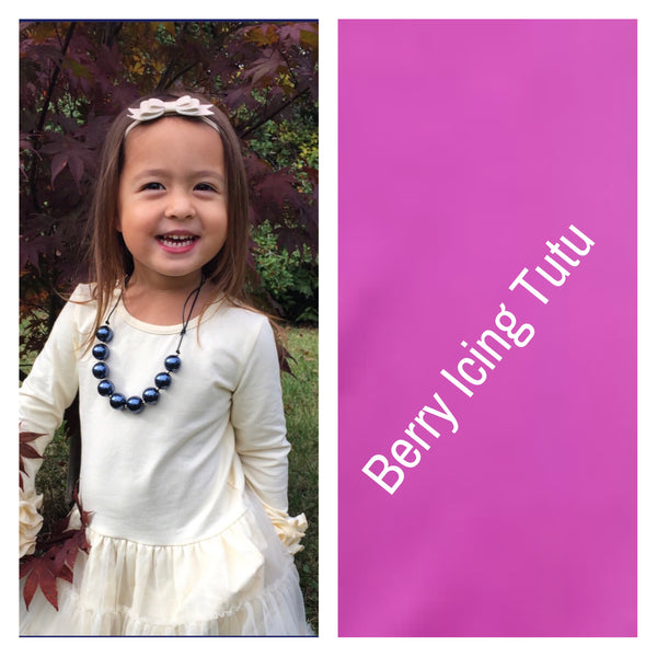 Berry Icing Tutu Dress - Ooh La La Ruffles Boutique