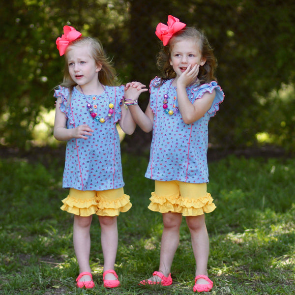 Primrose Shorties - Ooh La La Ruffles Boutique