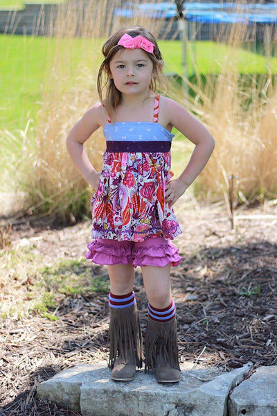 Berry Shorties - Ooh La La Ruffles Boutique