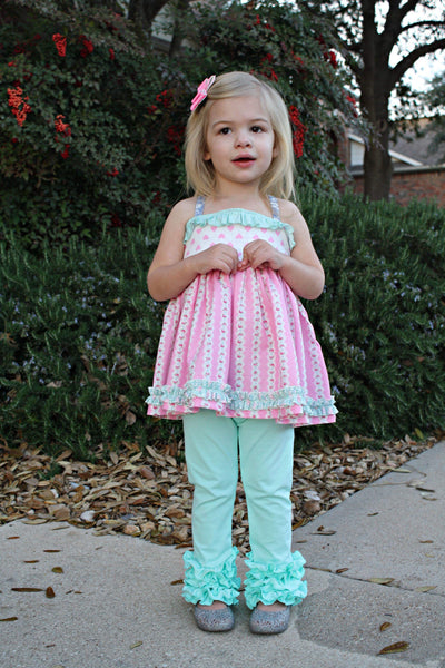Mint icings - Ooh La La Ruffles Boutique