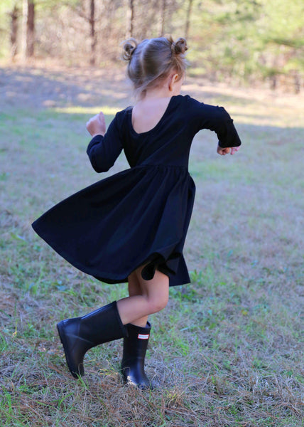 Little Black Dress - Ooh La La Ruffles Boutique