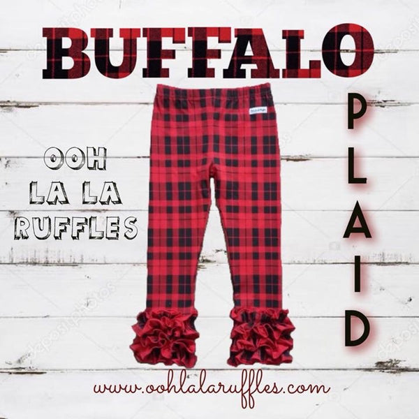 Buffalo Plaid Icings - Ooh La La Ruffles Boutique