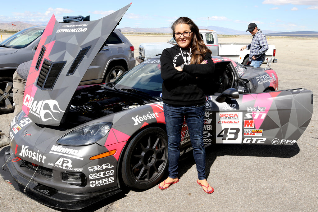 Racing and Animal Rights: Stephanie Cemo Talks About Her Two Passions.