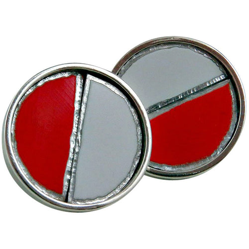 Ferrari Silver Cuff Links - CRASH Jewelry